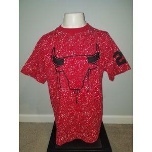 Chicago Bulls Michael Jordan #23 Splater Paint XL